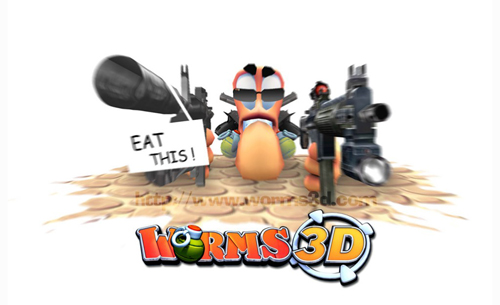 Сохранение для Worms 3D