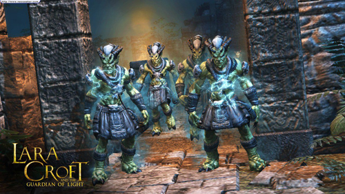 Рецензия на игру Lara Croft the Guardian of Light