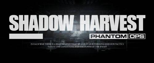 Сохранение для Shadow Harvest - Phantom Ops
