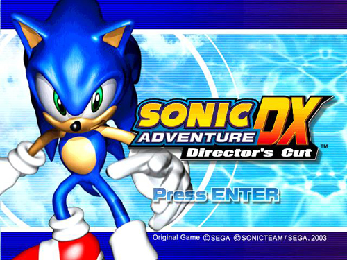 Сохранение для Sonic Adventures DX