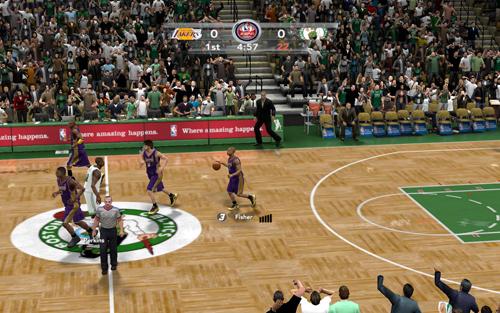 Рецензия на игру NBA 2K10