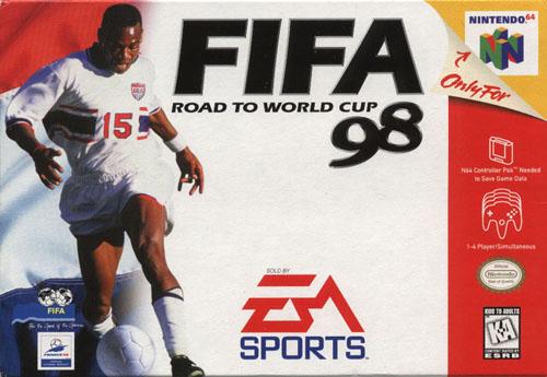 Сохранение для FIFA 98