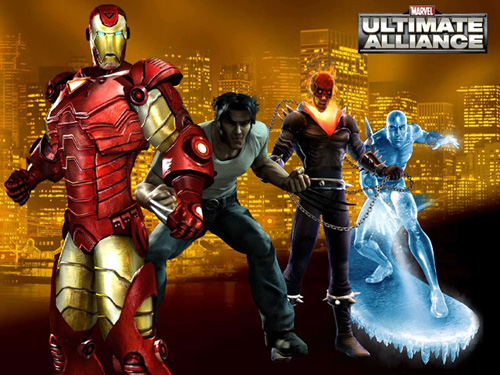 Сохранение для Marvel Ultimate Alliance