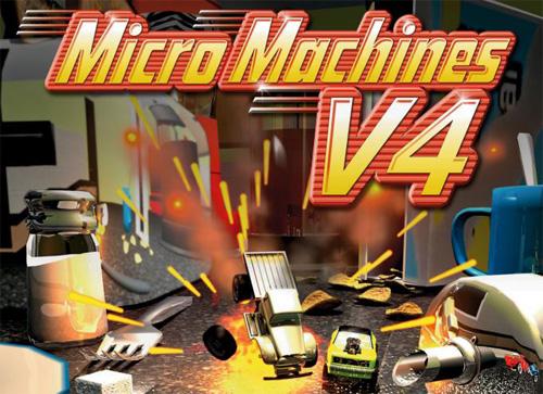Сохранение для Micro Machines V4