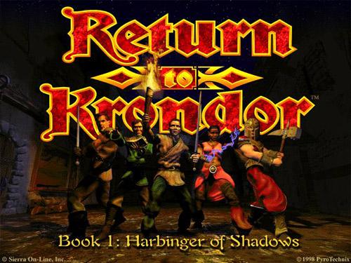 Сохранение для Return to Krondor