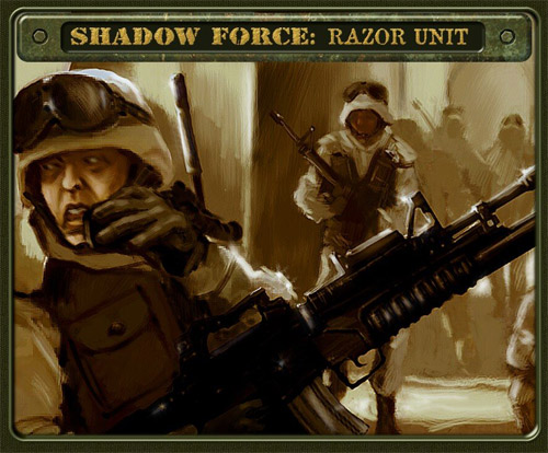 Сохранение для Shadow Force: Razor Unit