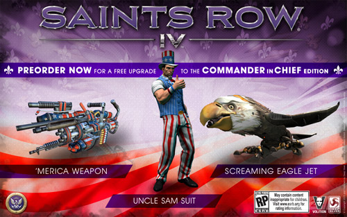 Коды для Saints Row 4