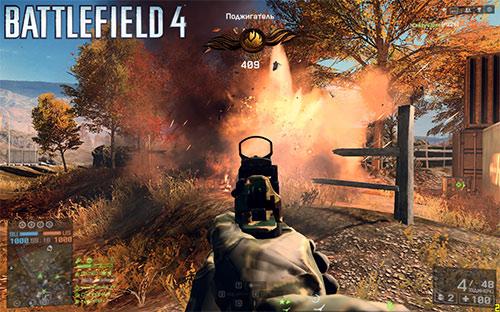 """Прохождение задания """"Поджигатель"""" в Battlefield 4"""
