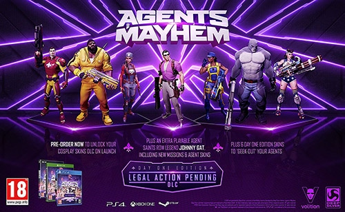 Трейнеры для Agents of Mayhem