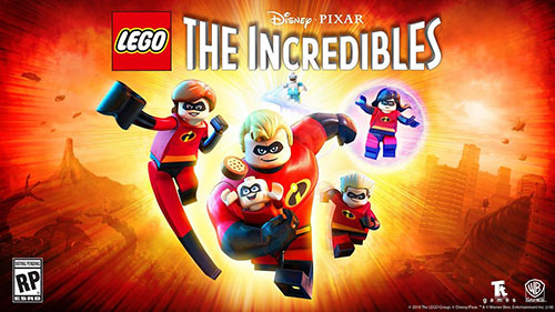Трейнеры для LEGO The Incredibles