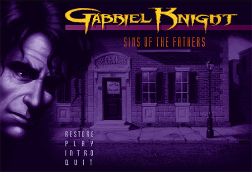 Сохранение для Gabriel Knight: Sins of the Fathers