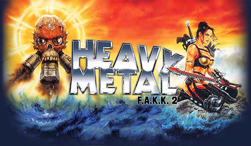 Сохранение для Heavy Metal: F.A.K.K.2
