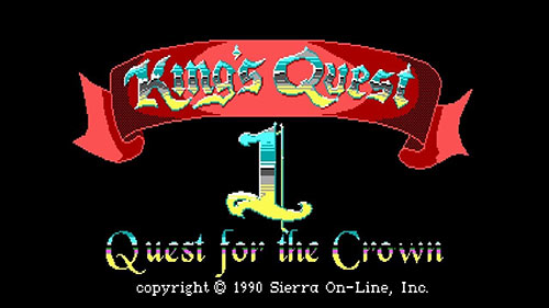 Сохранение для King's Quest 1: Quest for the Crown